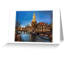 The Lights of Amsterdam Greeting Card