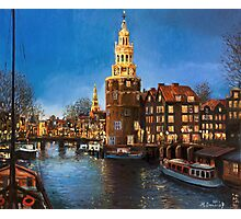 The Lights of Amsterdam Photographic Print