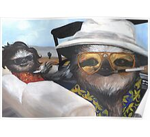 Fear and Loathing in Sloth Vegas Poster