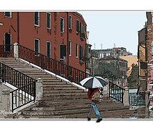Venice in the Rain by MariarosaR