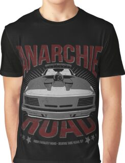 MAD MAX inpired Anarchie Road with Interceptor Design Graphic T-Shirt