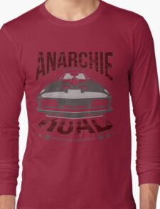 MAD MAX inpired Anarchie Road with Interceptor Design Long Sleeve T-Shirt