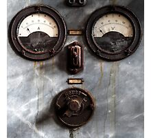 5.12.2015: Old Gauges Photographic Print