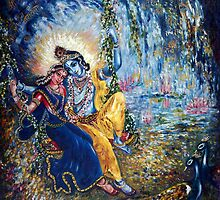 Krishna Leela by Harsh  Malik