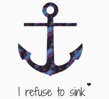 I refuse to sink by feelingkawaii