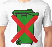 Wheelie bin Unisex T-Shirt