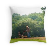 Straight and True Throw Pillow