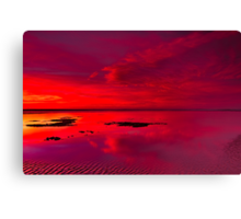 """""""Reflections Of The Dawn"""" Canvas Print"""