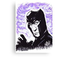 The Master of Magnetism Canvas Print