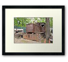 Train Framed Print
