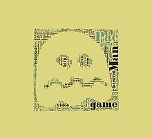 Pac-man iPhone case by Kerrisaurus