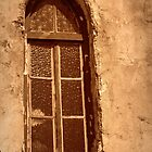 Chapel window above Lifou by KarenTregoning