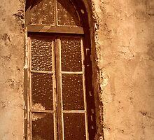 Chapel window above Lifou by Karen Tregoning