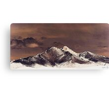 Rustic Mountain Canvas Print