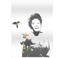 Abbey and the Hummingbird II Poster