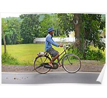 Bicycle Ride in Lombok Poster