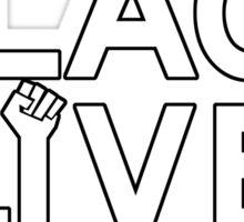 Black Lives Matter Tshirt Sticker