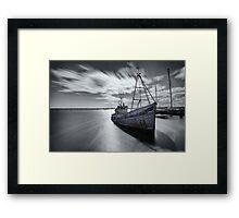 Portugal Fishing Boat Framed Print