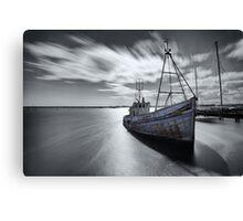 Portugal Fishing Boat Canvas Print
