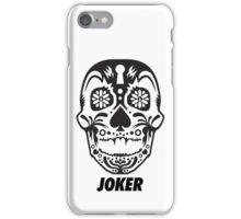 iPhone Case - The Joker B&W iPhone Case/Skin