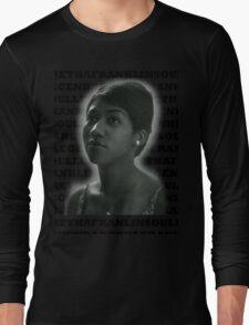 Aretha Franklin Soul Legend Long Sleeve T-Shirt