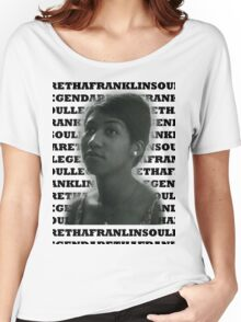 Aretha Franklin Soul Legend Women's Relaxed Fit T-Shirt