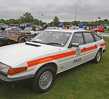 A Rover 3.500 Car, Ex Police vehicle by Keith Larby