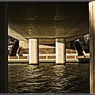 Under the bridge in Tuggeranong/ACT by Wolf Sverak