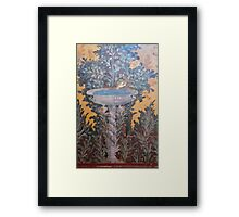 Ancient roman art Framed Print
