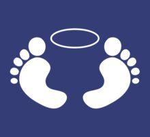 Feet 'n Halo | White by Lin Da