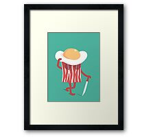 Meet the meat Framed Print