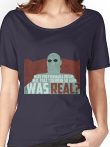 The Matrix - Morpheus: Ever had a dream... Women's Relaxed Fit T-Shirt