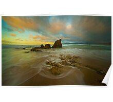 Aireys Inlet Sunrise 2 Poster