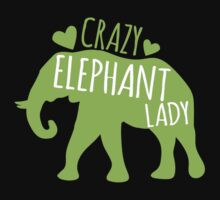 Crazy Elephant lady by jazzydevil