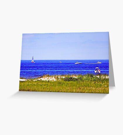 Cranes Beach Greeting Card