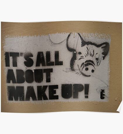 Its All About Makeup Poster