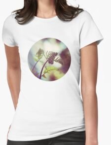 new growth - cinnamon fern Womens Fitted T-Shirt