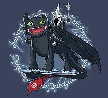 Witch King of Berk by ItokoDesign