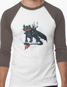 Witch King of Berk Men's Baseball ¾ T-Shirt
