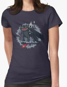 Witch King of Berk Womens Fitted T-Shirt