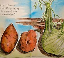 potatoes and fennel by Evelyn Bach