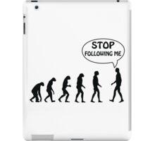Stop Following Me iPad Case/Skin