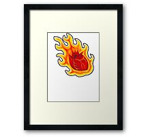 This Hearts on Fire Framed Print