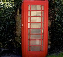 Run down telephone box. by ASchofieldPhoto