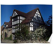 Ashfield Hall, Much Wenlock Poster