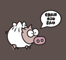 Dim Sum Pig - Char Siu Bao by Kokonuzz