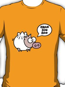 Dim Sum Pig - Char Siu Bao T-Shirt