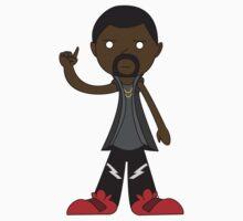 Kanye West by adamrwhite