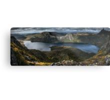 Lake Dove Panorama Metal Print