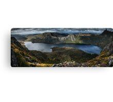 Lake Dove Panorama Canvas Print